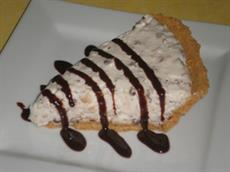 Toasted Almond and Chocolate Ricotta Pie