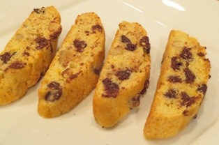 Orange - Chocolate Chop Biscotti