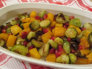 Brussels Sprouts with Butternut Squash