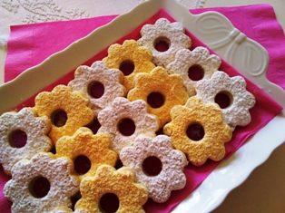 Shortbread cookies from Liguiria