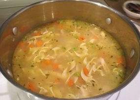 Quick and Easy Chicken Soup