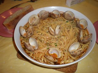 Linguine with Marechiaro Sauce