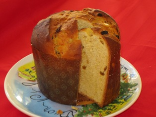 Panettone - Traditional Italian Christmas Bread from Milan