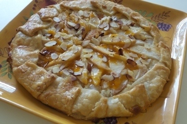 Pear and Almond Crostata
