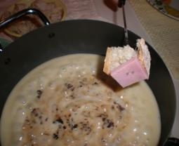 Porcini and Cheese Fondue