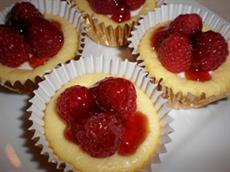 Raspberry Cheesecake Tarts