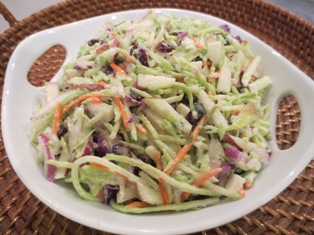 Broccoli and Apple Slaw