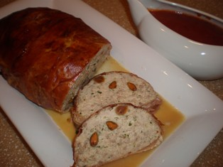 Sicilian  Meatloaf with Ricotta and Pistachios