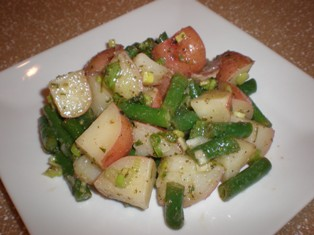 Siciilian Potato and Green Bean Salad