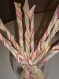 Twisted Ribbon Stripe Pasta