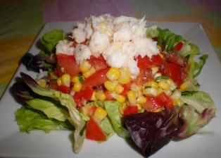 Flavors of Summer Salad