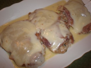 Veal with Prosciutto and Fontina