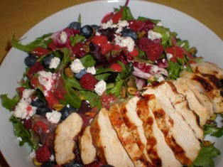 Very Berry Chicken Salad
