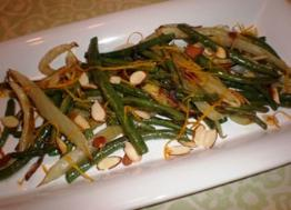 Fennel and Green Beans